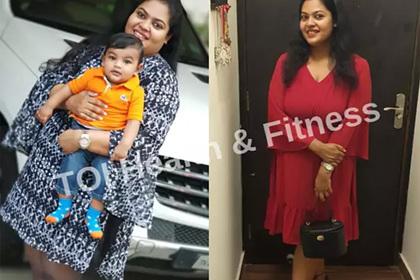 124-килограммовая женщина похудела на 34 килограмма без похода в спортзал