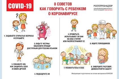 Роспотребнадзор назвал лучший способ защитить детей от коронавируса