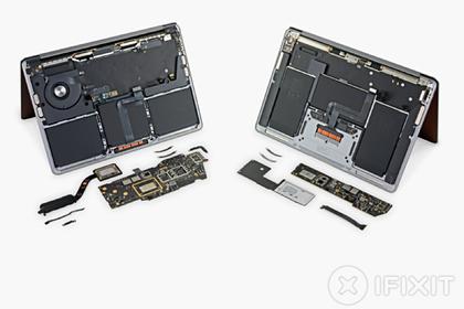 Показаны внутренности новых компьютеров Apple