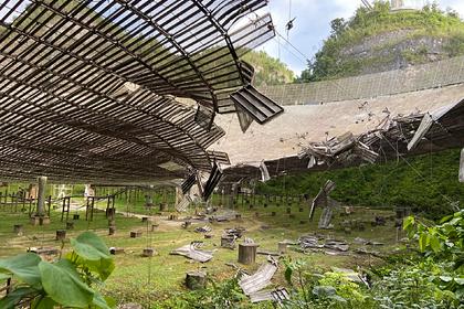 Телескоп «Аресибо» вПуэрто-Рико, который будет снесен