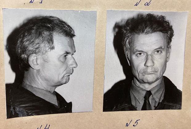Фото Андрея Чикатило в день ареста