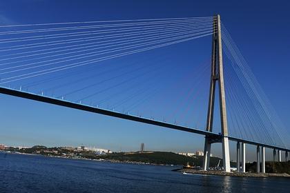 Названо условие для открытия моста на остров Русский во Владивостоке