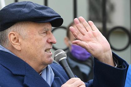 Жириновский назвал поражение сборной России от сербов местью Черчесову