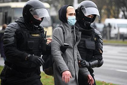 МВД Белоруссии объяснило применение спецсредств против протестующих