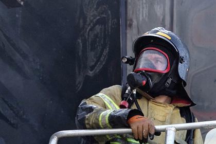 В Москве загорелся отдел полиции