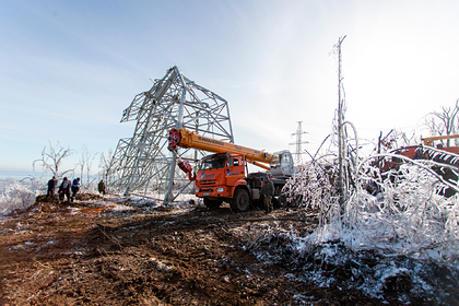 Кремль назвал колоссальным ущерб от циклона в Приморье