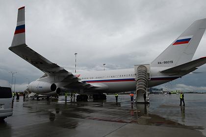 Один из самолетов президента России оказался в зоне досягаемости разведчиков США
