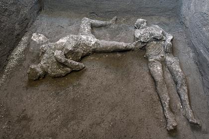 Обнаружены новые жертвы катастрофического извержения вулкана