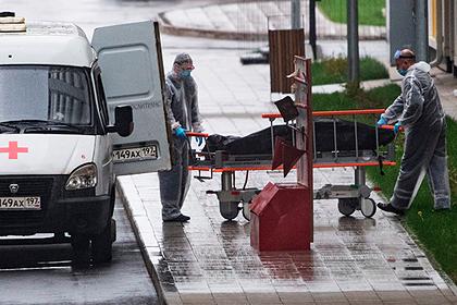 В России установлен антирекорд по смертности среди пациентов с коронавирусом