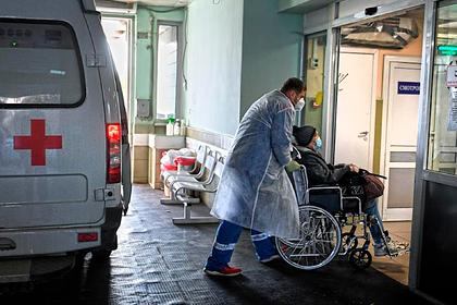 Прохождение пика заболеваемости COVID-19 в России отложили