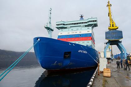 Ледокол «Арктика» обеспечил первую проводку в акватории Севморпути