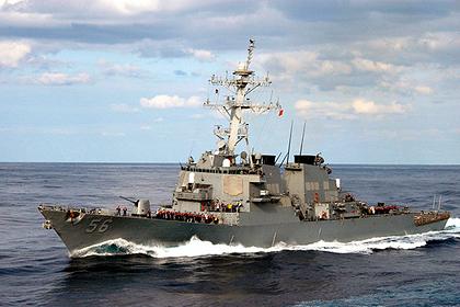 США опровергли вторжение эсминца «Джон Маккейн» в российские воды