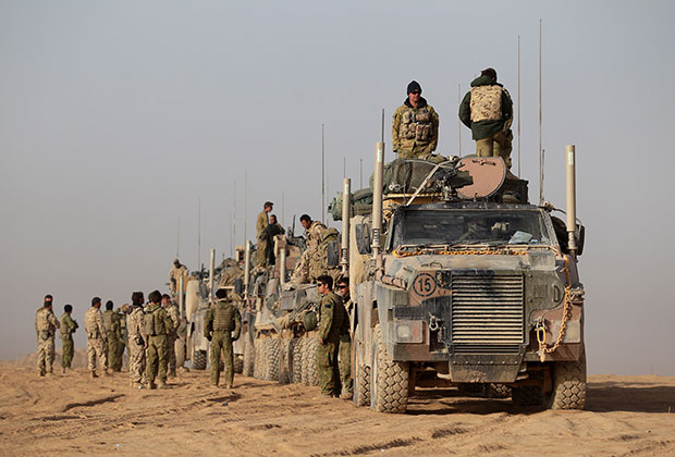 Австралийские военные в провинции Урузган