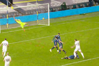 Двойной сейв английского вратаря признан лучшим в туре АПЛ