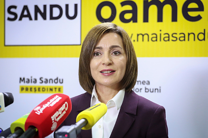 Санду заявила о выведенной из комы внешней политике Молдавии