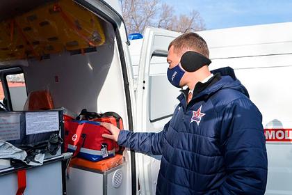 Дегтярев обновил автопарк скорой помощи в Хабаровском крае