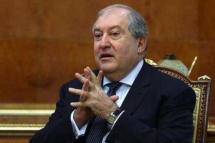 Президент Армении рассказал о негативном международном образе армян