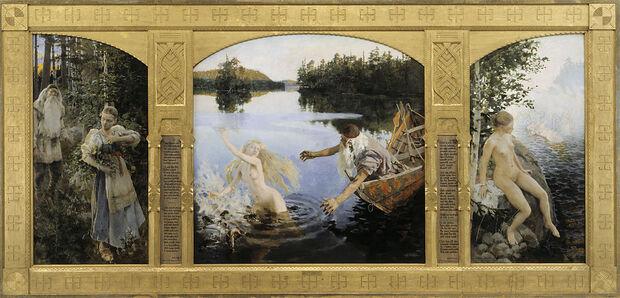 Триптих «Легенда об Айно»