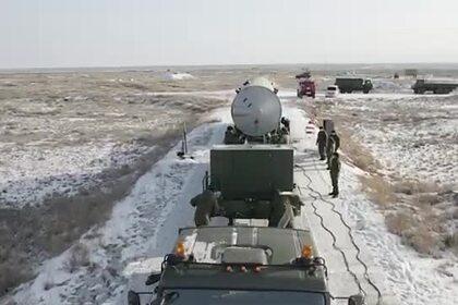 Испытания новой российской ракеты ПРО показали на видео