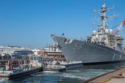В Польше высмеяли заход эсминца США в российские воды