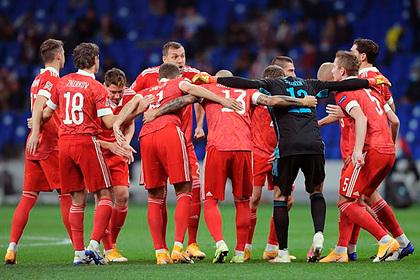 Сборная России рухнула в рейтинге ФИФА
