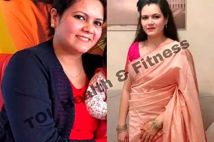 Женщина сбросила 13 килограммов и поделилась секретами успеха