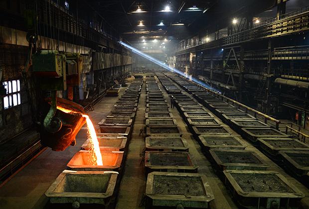 Надеждинский металлургический завод компании «Норникель»