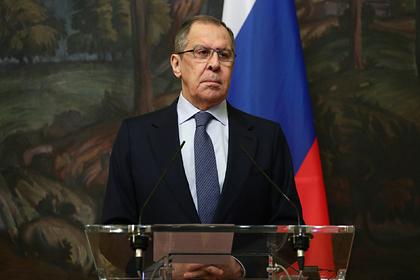 Лавров опроверг контакты России с оппозицией Белоруссии