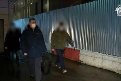 Опубликовано видео задержания бывшего замдиректора ФСИН Максименко