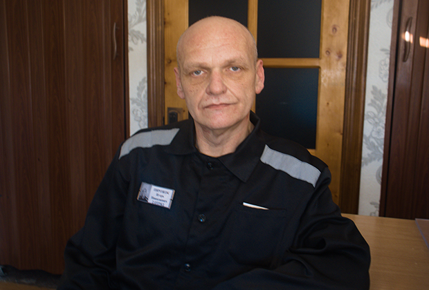 Игорь Пирожок в колонии во Владимирской области