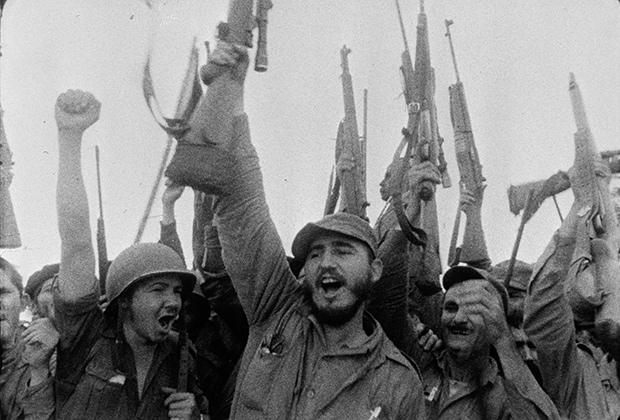Фидель Кастро и его сторонники, 1957 год