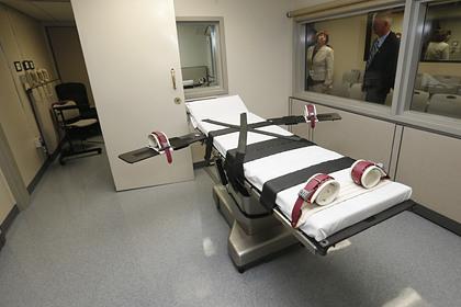 В США расширили способы смертной казни