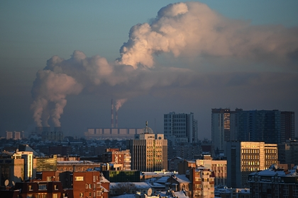 В российском городе ввели режим «черного неба»