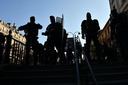 На акции протеста в Париже вспыхнули беспорядки