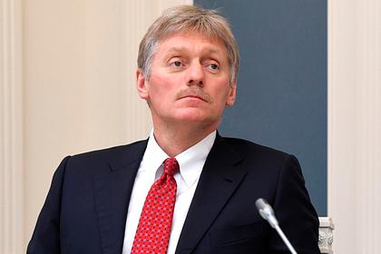 Песков назвал статью о «знакомой Путина» полной туфтой