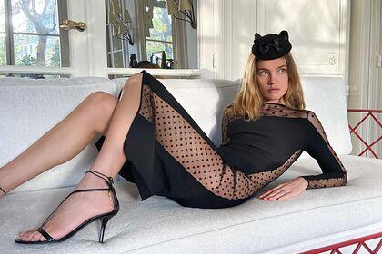 Наталья Водянова снялась в полупрозрачном наряде и взволновала поклонников