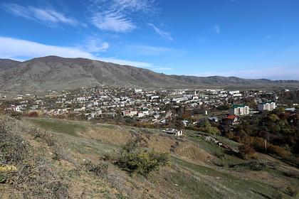 Российские военные развернули госпиталь в Нагорном Карабахе