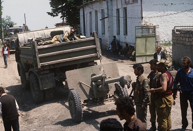 Карабахский конфликт 1990-х годов, город Мартакерт