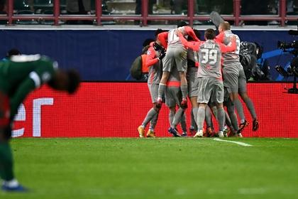 «Локомотив» проиграл в матче Лиги чемпионов