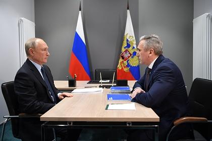 Путин не согласился со словами тюменского губернатора о доходах жителей