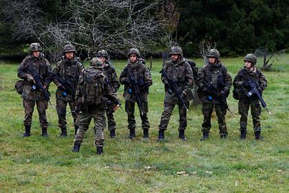 В армии ФРГ обнаружили «граждан рейха»
