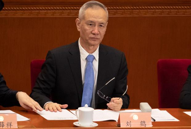 Китайский вице-премьер Лю Хэ