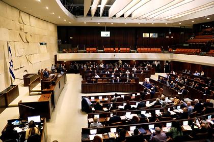 В Израиле снова решили распустить парламент