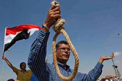 В Египте казнили десятки человек