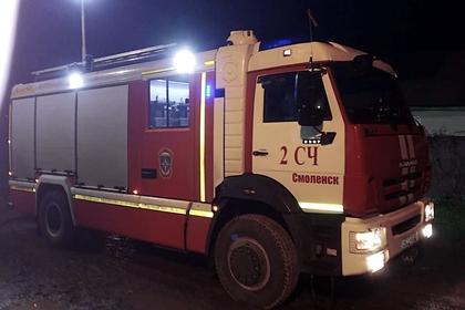 Два человека погибли при пожаре в московской больнице