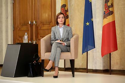 Санду отказалась считать проблемой свое румынское гражданство