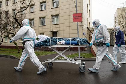 В России установлен новый антирекорд по заболеваемости COVID-19 в сутки