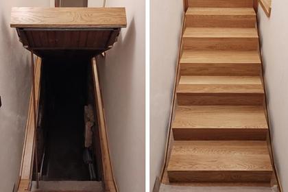 Семья нашла в доме жуткую тайную комнату под лестницей и напугала тысячи людей