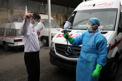 Число зараженных коронавирусом в Иране превысило миллион человек