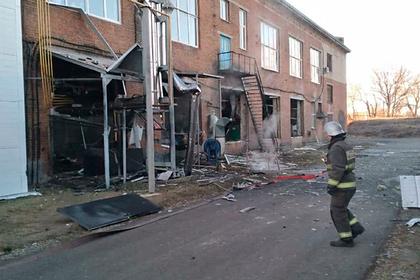 В российском городе взорвалась трикотажная фабрика